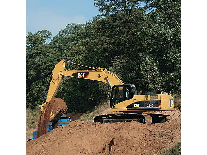 324D/324D L Medium Excavator
