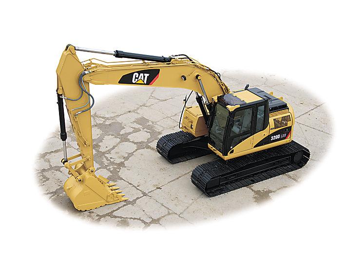 320D LRR Hydraulic Excavator