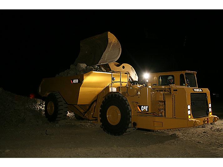 Caminhão de Mineração Subterrânea AD30