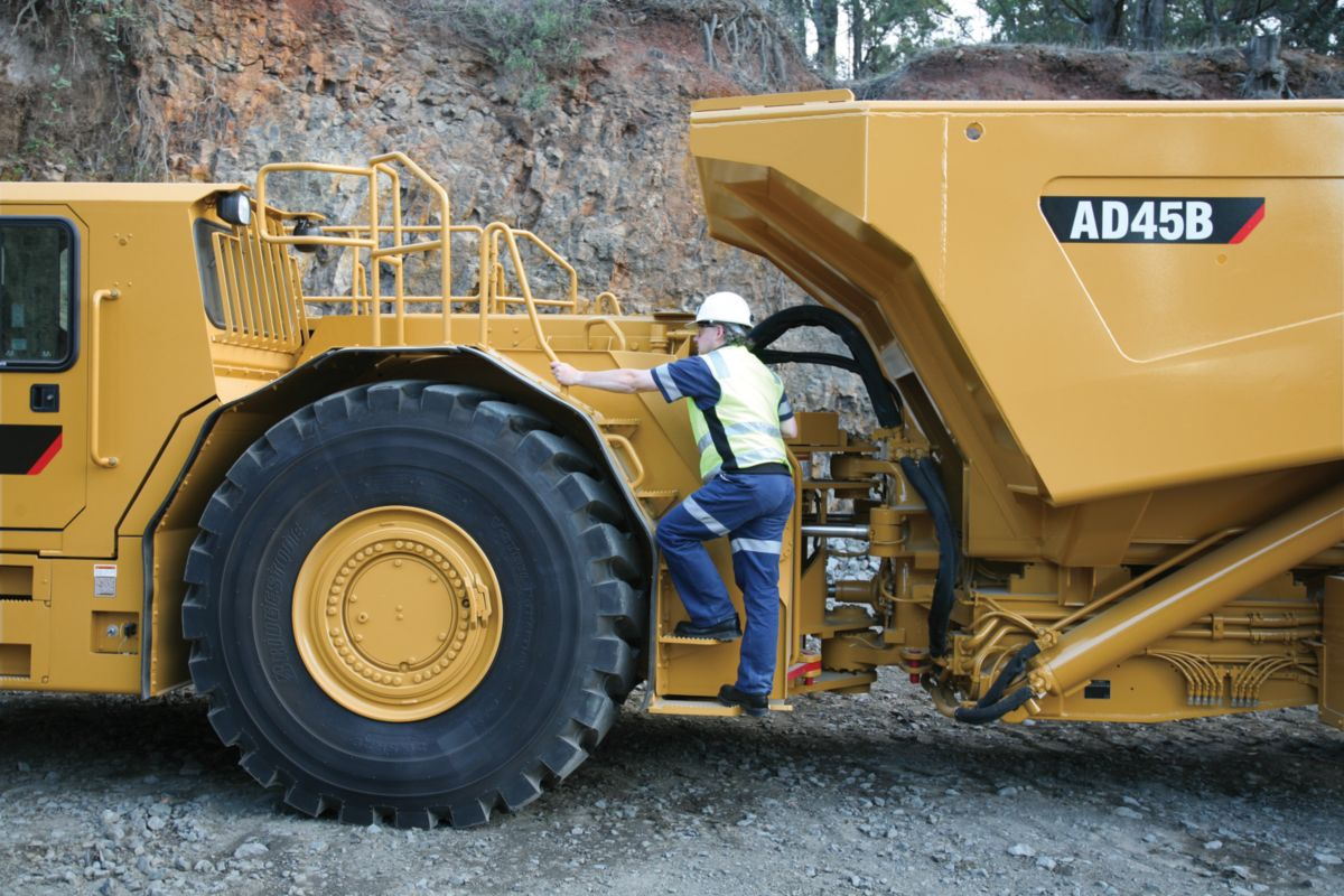 Mining caterpillar equipment