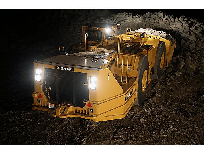Máquina de Carga, Acarreo y Descarga (LHD, Load-Haul-Dump) de Minería Subterránea R1700G