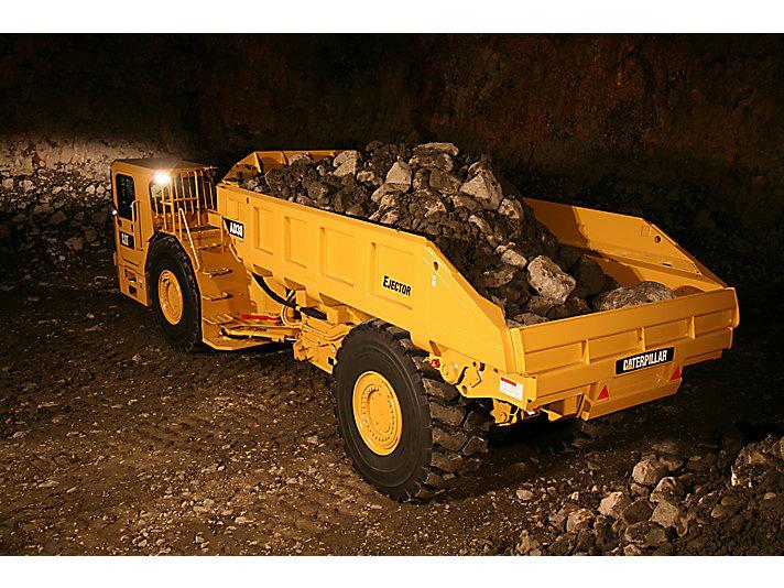 Truck voor ondergrondse mijnbouw AD30