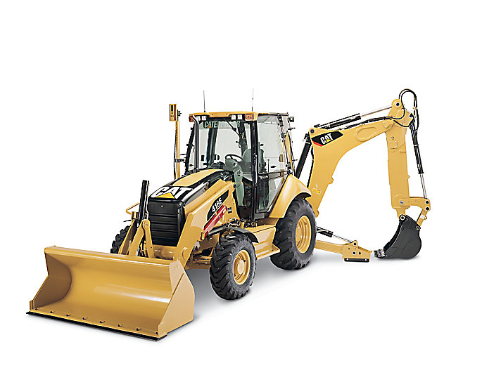 416E - TIER 2, LACD Center-Pivot Backhoe Loaders