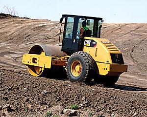 CS54 Vibratory Soil Compactor