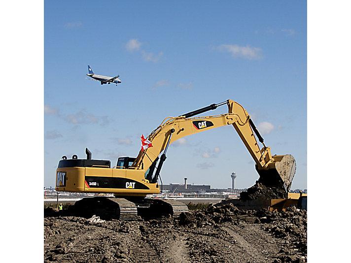 345D/345D L Large Excavator