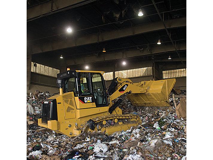 963D WH Waste Handler Track Loader
