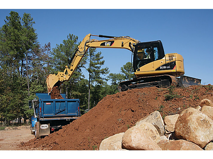 311D LRR Small Excavator