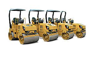 The 1.8 - 3.5 ton Utility Roller family