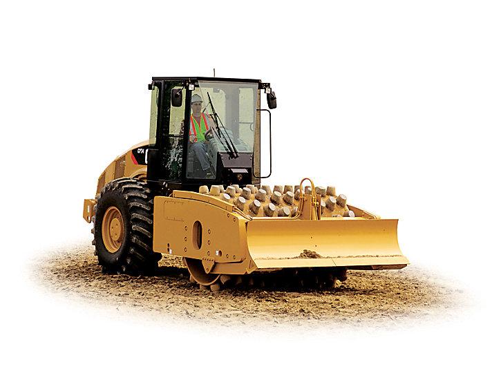 Vibratory Soil Compactor CP74