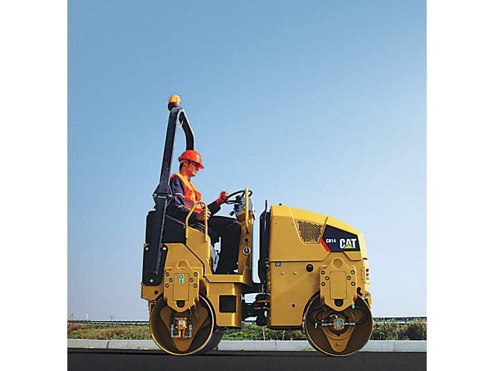 CB14 Tandem Vibratory Rollers