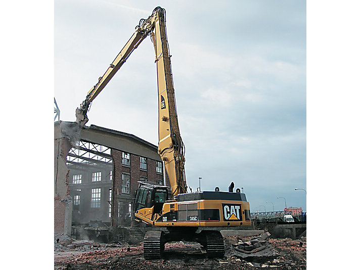 345C UHD Ultra High Demolition (UHD) Hydraulic Excavators