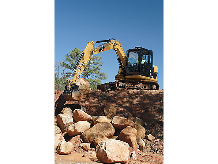 307D Tier 3 Mini Excavators