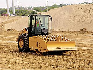 CP74 Vibratory Soil Compactor