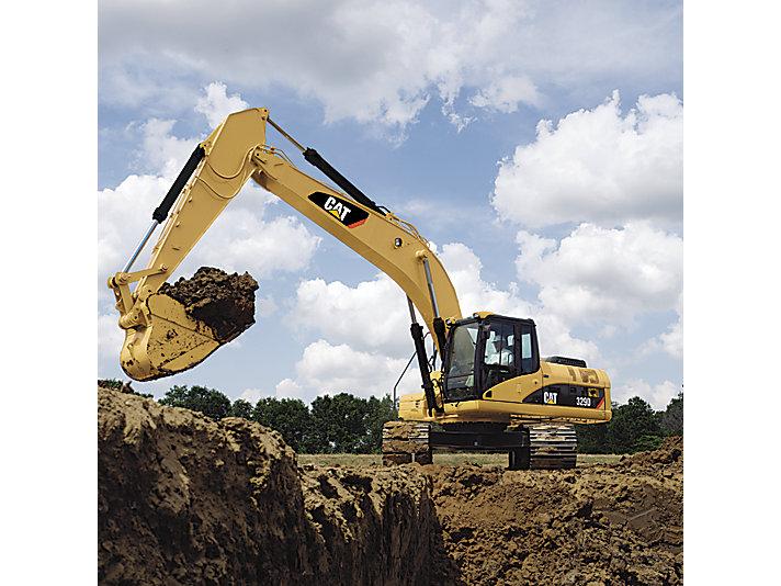 329D/329D L Medium Excavator