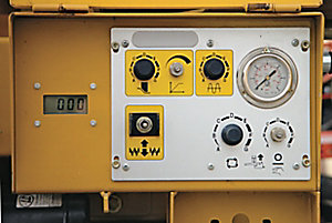 Auxiliary Rear Control Panel