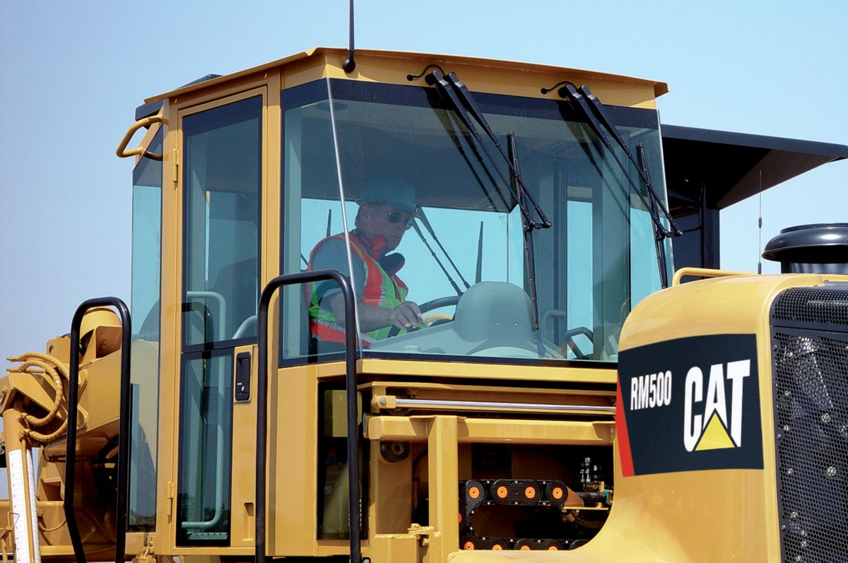 Iso-mounted Cab is Pressurized