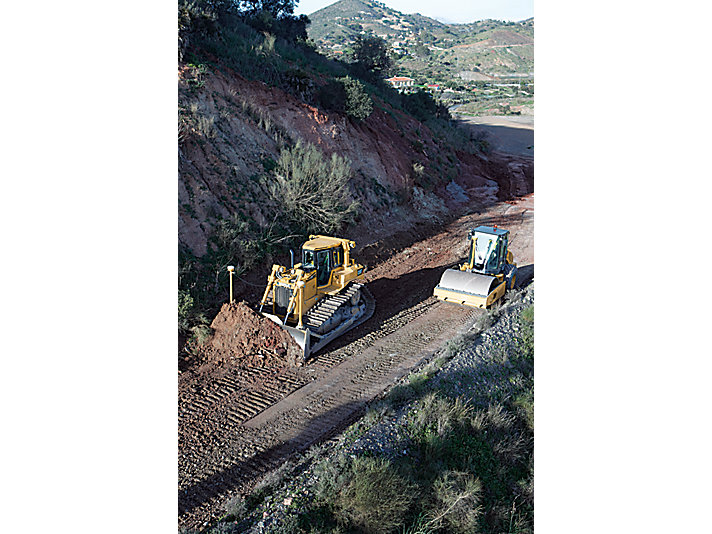 Vibratory Soil Compactor CS56