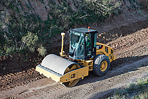 AccuGrade Compaction for Soil Compactors Option