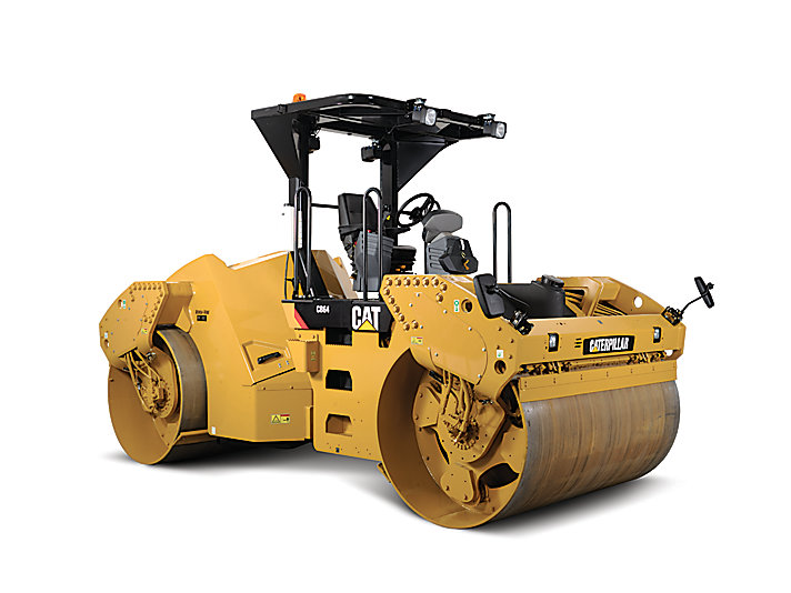 Image result for CAT CB64 COMPACTORS