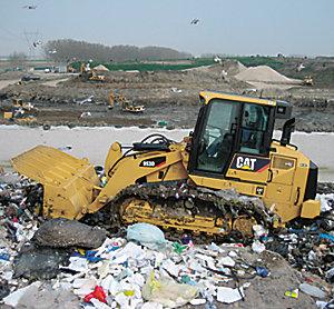 953D WH Waste Handler Track Loader