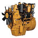 Cat® C4.4 Diesel Engine with ACERT™ Technology