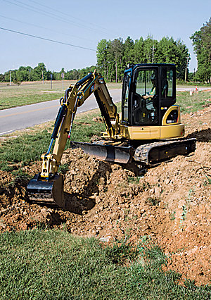 303.5D CR Mini Hydraulic Excavator
