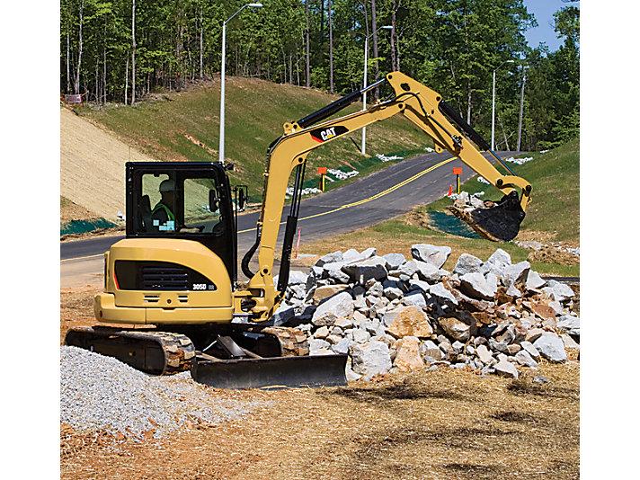 305D CR Mini Hydraulic Excavator