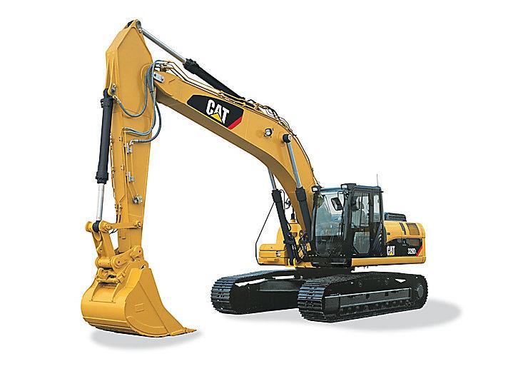 329D L Medium Excavator