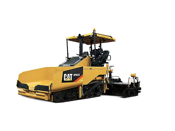 Pavimentadora de asfalto de cadenas AP655D
