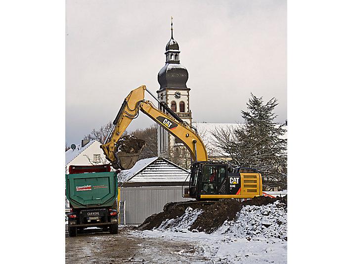 324E Medium Hydraulic Excavator
