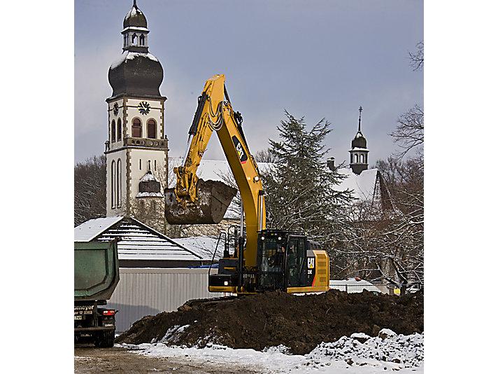 Excavadora Hidráulica Mediana 324E