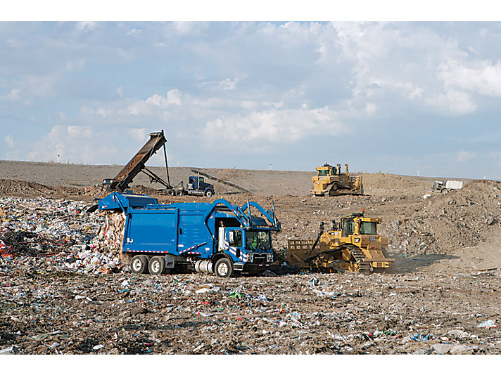 Lame pour le traitement des déchets D6TWH