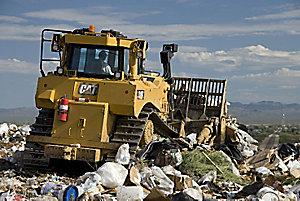 D8T WH Waste Handling Dozer