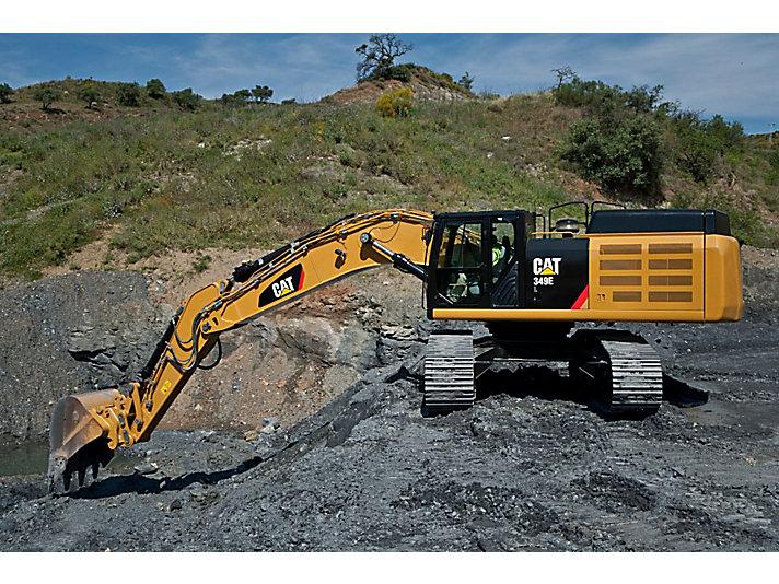 349E Large Hydraulic Excavator