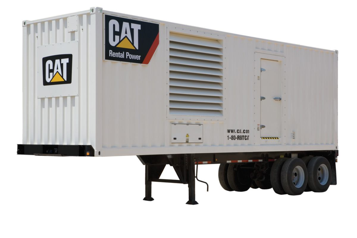 Cat XQ2000 rental generator set