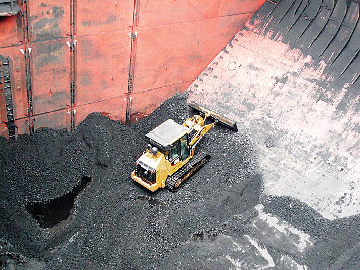 963D SH Shiphold/Port Handling Track Loader