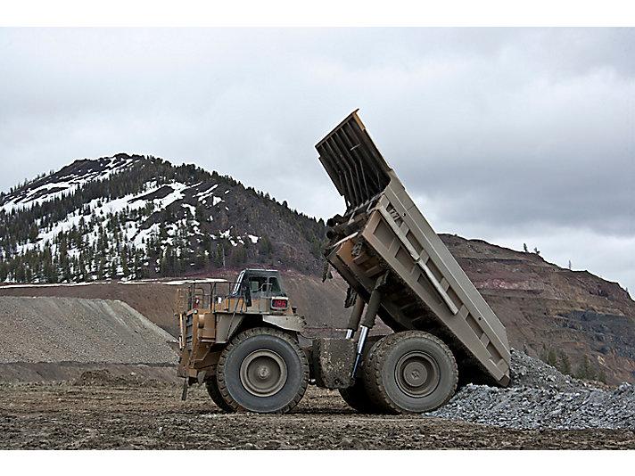 Caminhões de Mineração 785D