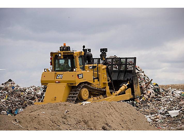 D9T WH Waste Handler Dozer