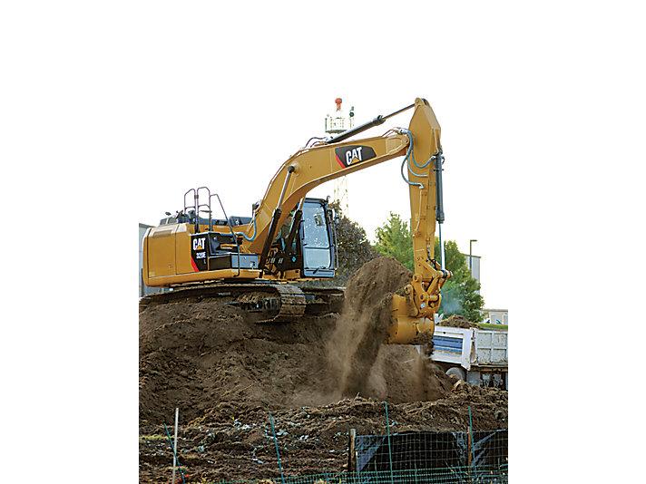 Excavadora Hidráulica Mediana 320E L