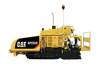 Pavimentadora de asfalto de cadenas AP255E