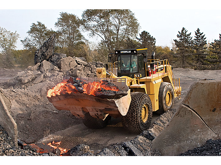 988H (Steel Mill) Large Wheel Loader