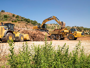Cat® construction machines