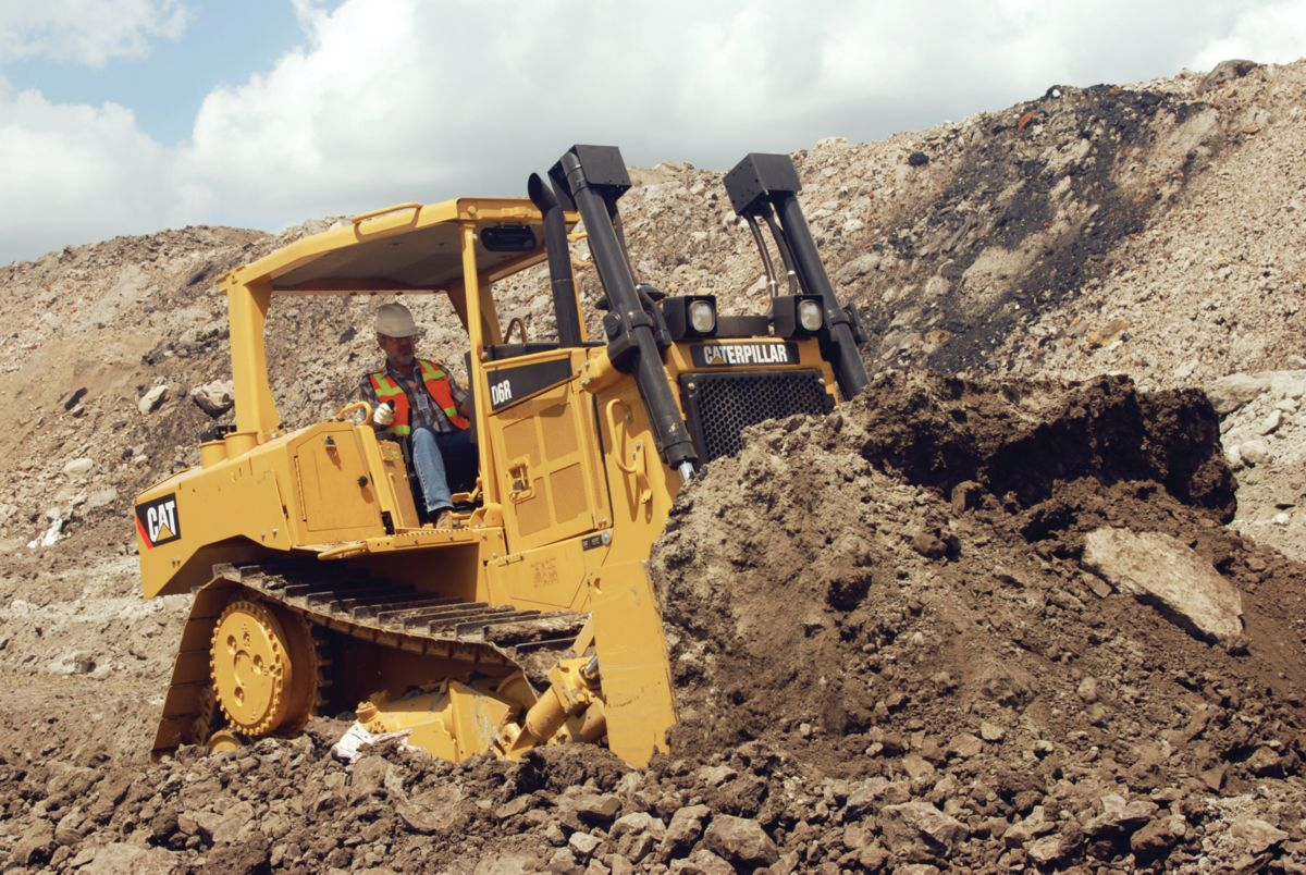 Cat D6R Medium Dozer for Mining