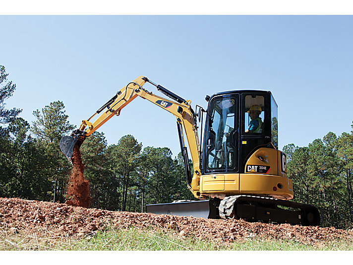 304E CR Mini Hydraulic Excavator