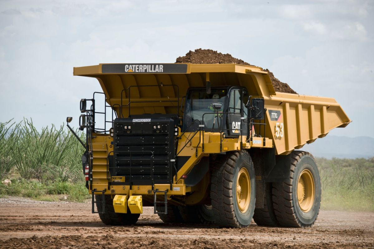Cat 777G off-highway truck