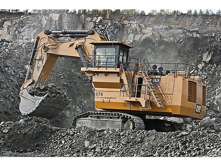 6030/6030 FS hydraulische mijnbouwshovels