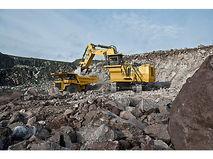 6030/6030 FS hydrauliska grävmaskiner för gruvindustrin