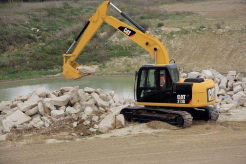 313D - Small Excavators