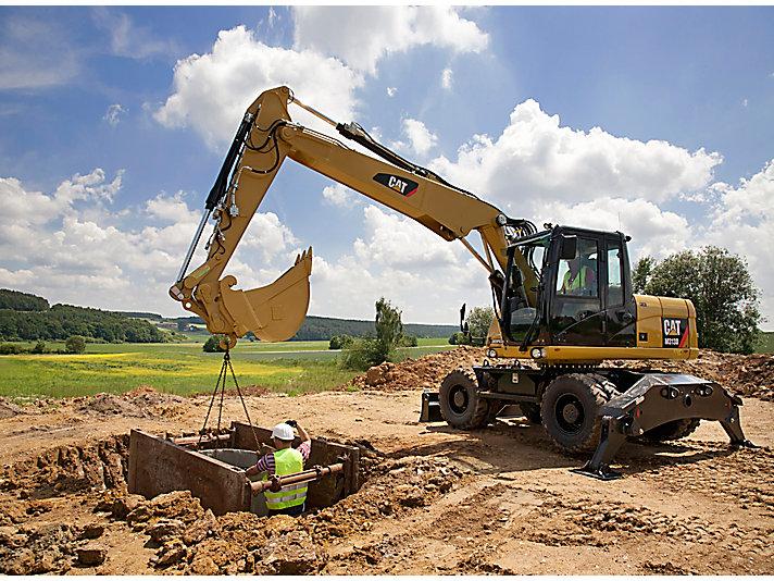 Wheel Excavator M313D