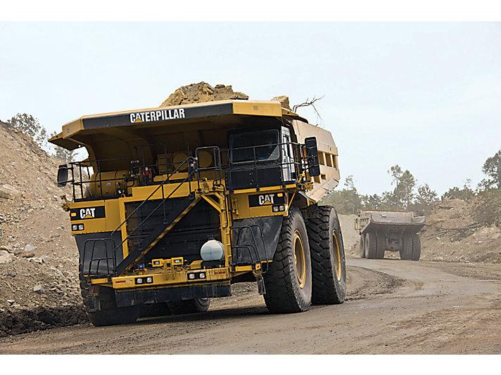 Dúmperes para Minería 785D